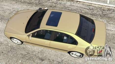 BMW M5 (E39) для GTA 5 вид сзади справа