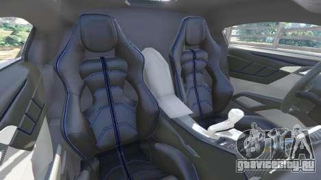 Lykan HyperSport 2014 для GTA 5 вид спереди справа