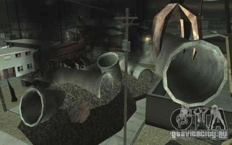 Ремонт дороги v2.0 для GTA San Andreas пятый скриншот