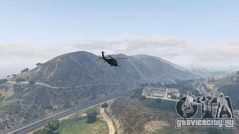 MH-60L Black Hawk для GTA 5 восьмой скриншот