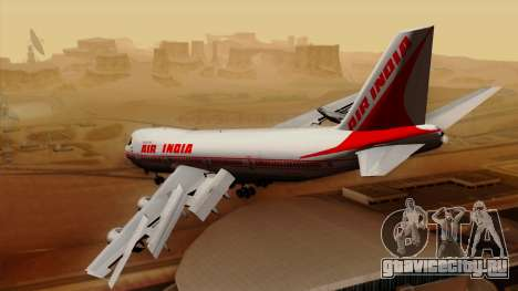 Boeing 747-237B Air India Flight 182 для GTA San Andreas вид слева