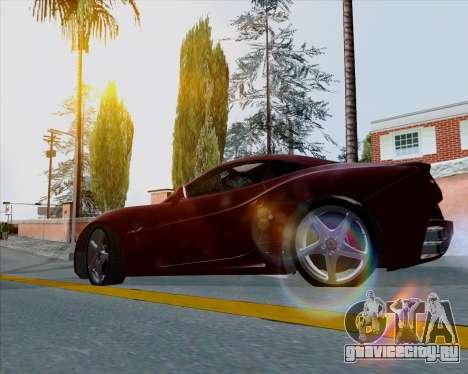 Vitesse ENB V1.1 Low PC для GTA San Andreas третий скриншот