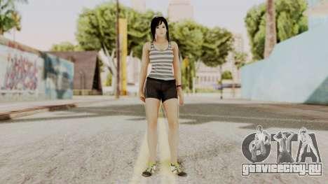 DOA 5 Kokoro Casual для GTA San Andreas второй скриншот