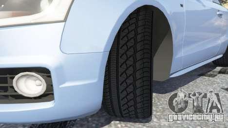 Audi S5 Coupe для GTA 5 вид справа