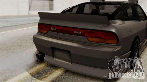 Nissan 240SX для GTA San Andreas вид сзади