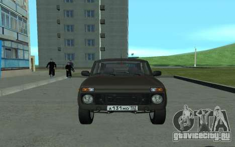 ВАЗ 21213 Нива для GTA San Andreas вид слева