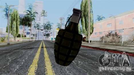 US Grenade from Battlefield 1942 для GTA San Andreas второй скриншот
