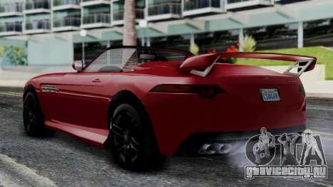 GTA 5 Benefactor Surano v2 IVF для GTA San Andreas вид слева