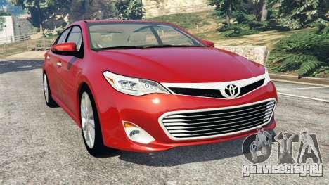 Toyota Avalon 2014 для GTA 5