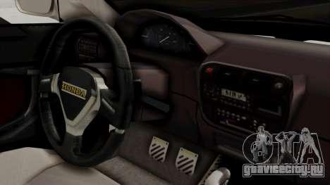 Honda Civic Sedan для GTA San Andreas вид справа
