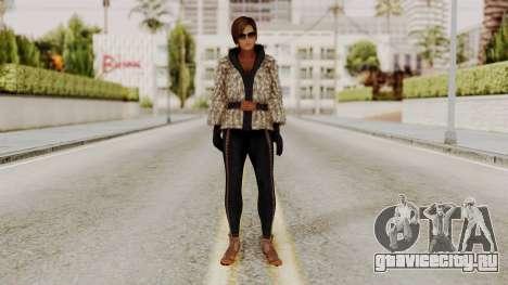 DOA 5 Lisa Hamilton Fashion для GTA San Andreas второй скриншот
