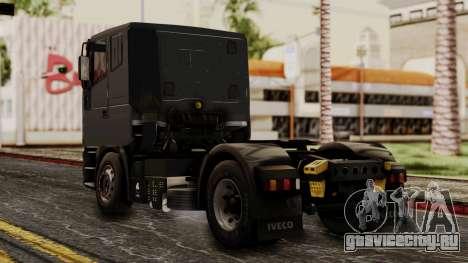 Iveco EuroStar Low Cab для GTA San Andreas вид слева