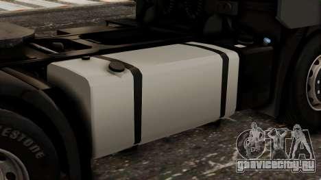 Iveco EuroStar Low Cab для GTA San Andreas вид сзади