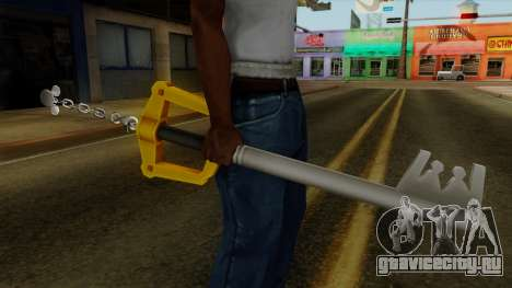 Kingdom Hearts - The Kingdom Key для GTA San Andreas третий скриншот