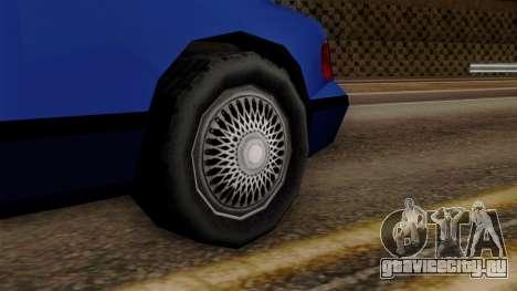GTA 3 Premier для GTA San Andreas вид сзади слева
