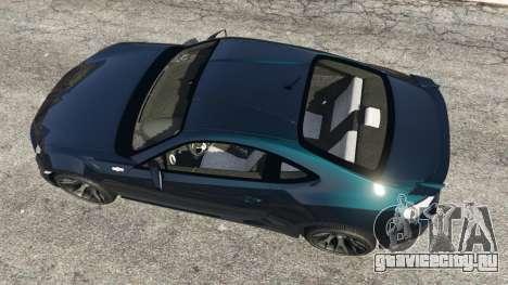 Toyota GT-86 v1.1 для GTA 5 вид сзади