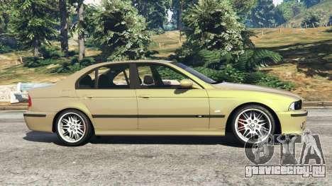 BMW M5 (E39) для GTA 5 вид слева
