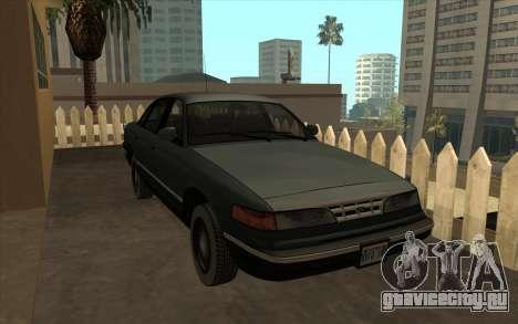 Форд Краун Виктория 1995 Стиль SA для GTA San Andreas