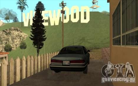 Форд Краун Виктория 1995 Стиль SA для GTA San Andreas вид справа