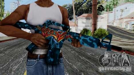 M4A1-S Master Piese для GTA San Andreas третий скриншот