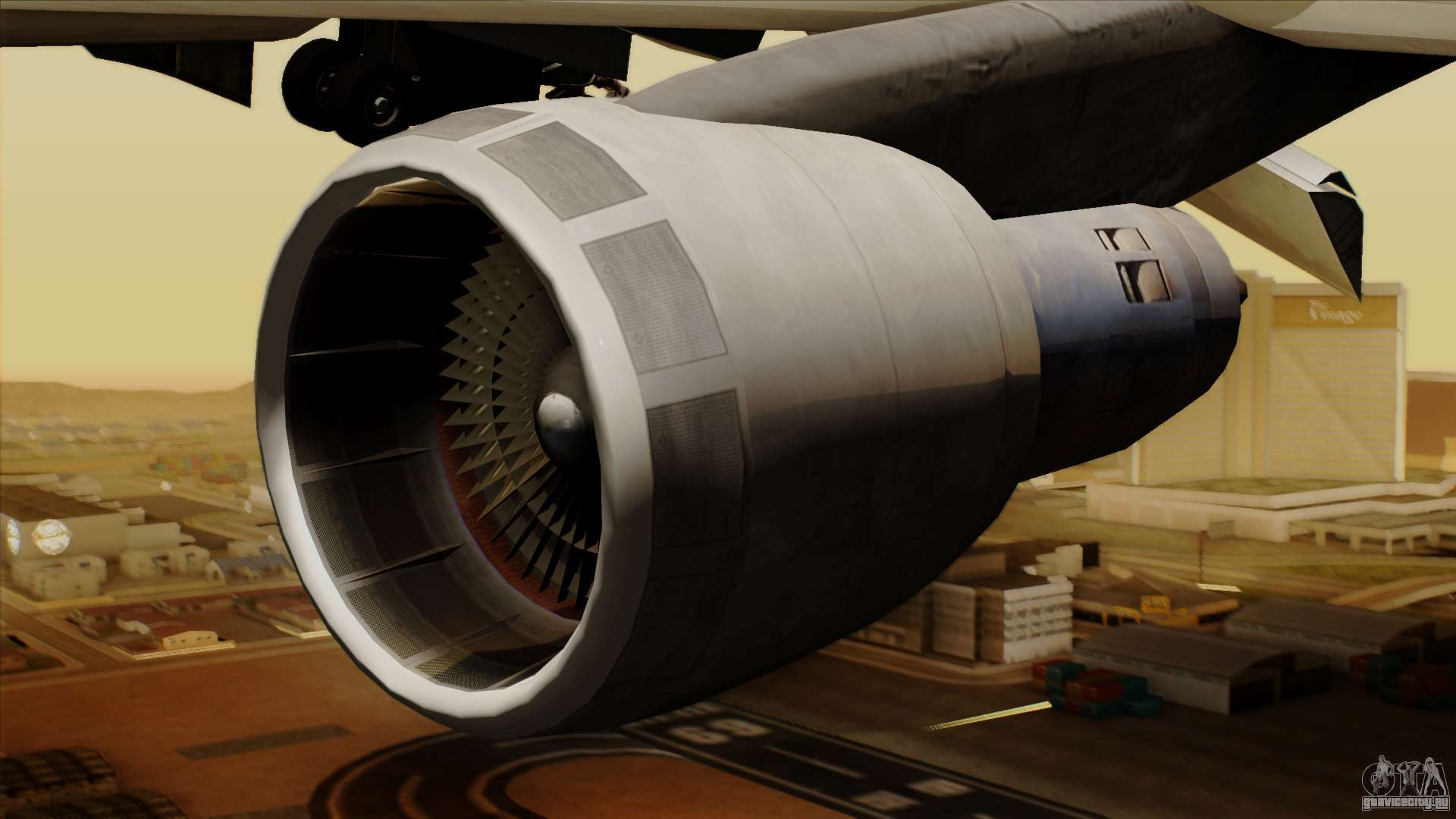 Boeing 747-237B Air India Flight 182 для GTA San Andreas