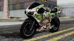 Bati Wayang Camo Motorcycle