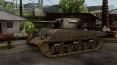 M4 Sherman from CoD World at War для GTA San Andreas