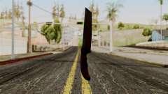 Новый ножик кровавый