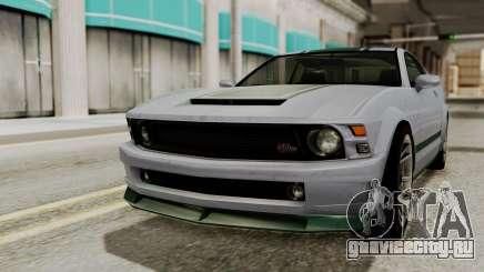 GTA 5 Vapid Dominator SA Style для GTA San Andreas