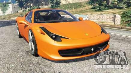 Ferrari 458 Italia 2009 для GTA 5