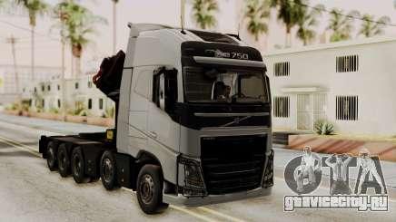 Volvo FH Euro 6 10x4 High Cab для GTA San Andreas