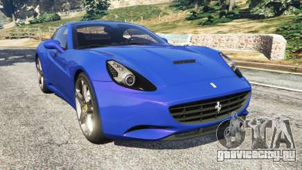 Ferrari California (F149) 2012 [Beta] для GTA 5