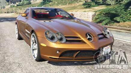 Mercedes-Benz SLR McLaren 2015 для GTA 5