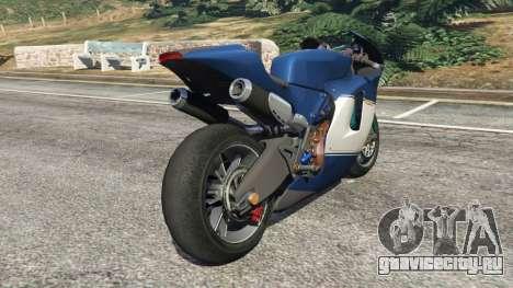 Ducati Desmosedici RR 2012 для GTA 5 вид справа