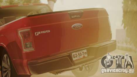 Ford F-150 2015 Stock для GTA San Andreas вид справа