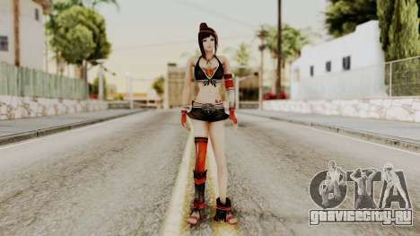 Dynasty Warriors 8 - Bao Sannian Black Costume для GTA San Andreas второй скриншот