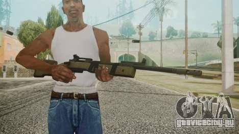 M40A5 Battlefield 3 для GTA San Andreas третий скриншот