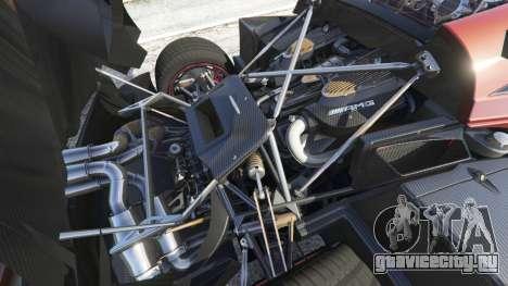 Pagani Huayra 2013 для GTA 5 вид справа
