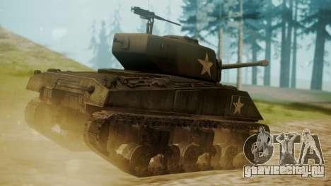 M4A3(76)W Sherman для GTA San Andreas вид слева