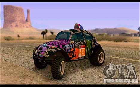 VW Baja Buggy Gymkhana 6 для GTA San Andreas