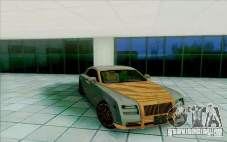 Rolls-Royce Ghost Mansory для GTA San Andreas салон