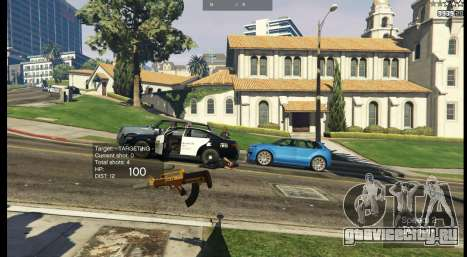 Fallout: San Andreas [.NET] ALPHA 2 для GTA 5 пятый скриншот
