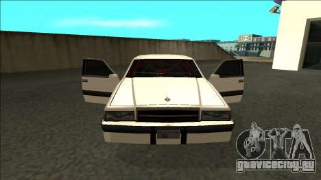 Willard Drift для GTA San Andreas вид изнутри