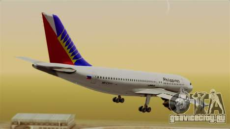 Airbus A310-300 Philippine Airlines Livery для GTA San Andreas вид слева