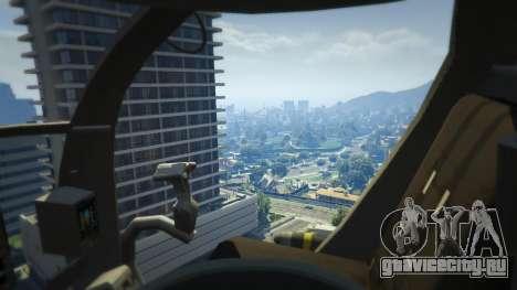 MH-6/AH-6 Little Bird Marine для GTA 5 пятый скриншот