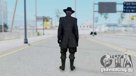 SkullFace Mask and Hat для GTA San Andreas третий скриншот