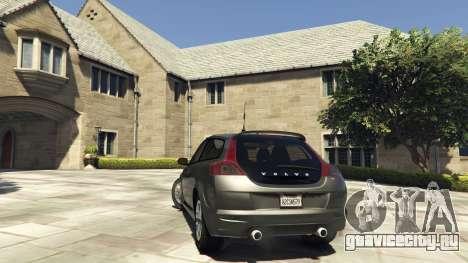 Volvo C30 Unmarked Police для GTA 5