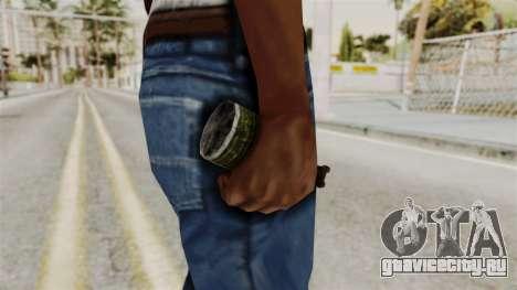 Grenade from RE6 для GTA San Andreas третий скриншот