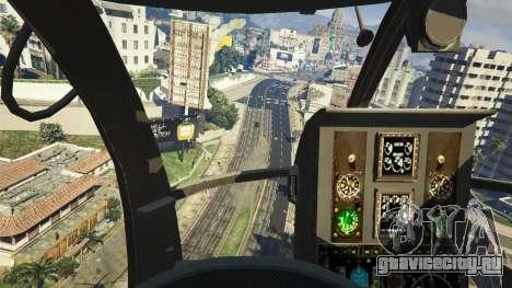 MH-6/AH-6 Little Bird Marine для GTA 5 седьмой скриншот