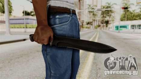 Knife from RE6 для GTA San Andreas третий скриншот